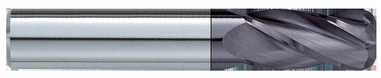 GARR TOOL 1//2x4 VRX .020 Corner Radius W-FluteNCK XCED